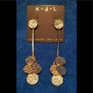 Goldtone Dangle Earrings